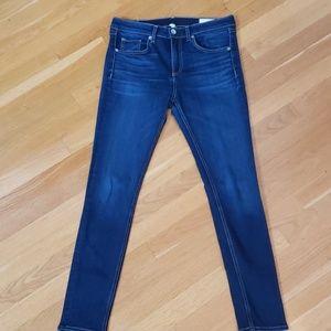 Rag & Bone skinny jeans in bloo moon 29